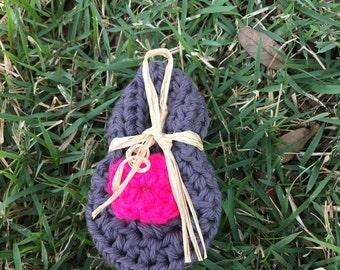 Yarn crochet Baby Booties/Slippers