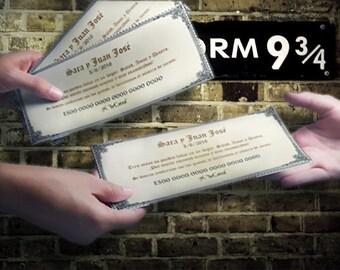 Card deposits wedding Harry Potter - PSD edit