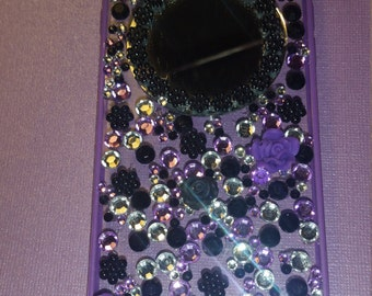 Jeweled decoden phone case