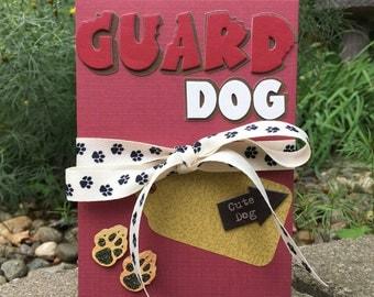 Guard Dog - Accordion Album - Photo Album - Scrapbook - Brag book