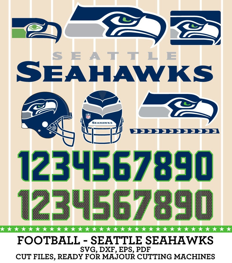 Seattle Seahawks Football Team Logo SVGpng PDF by ...