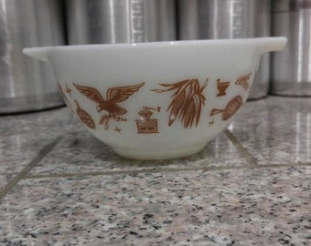 pyrex early american 441 cinderella bowl