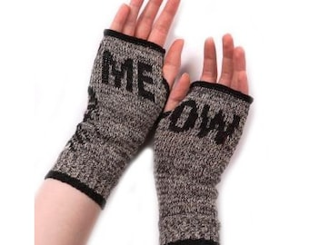 Kitty Cat Handwarmers (Meow) - Heather Brown