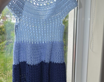 Crochet Toddler Summer Dress