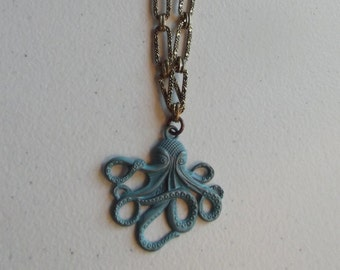 Sea Green Octopus