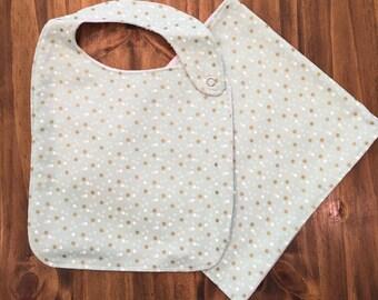 Baby Bib & Burp Cloth Sets