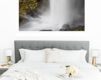 Waterfall Canvas Gallery Wrap Print Wall Art Home Decor Fine Art Photography Landscape