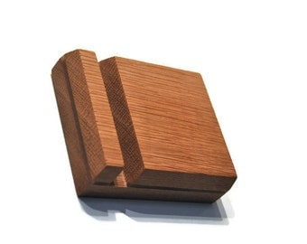 iPhone Stand, stand for iphone, wood docking station, Oak iPhone stand, Phone holder