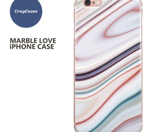Marble iPhone 7 Case, Marble iPhone 6s Plus Case, Marble iPhone 6 Case, Marble iPhone 6 Plus Case (SN648) (Ships From UK)