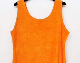 Terry cloth tank top