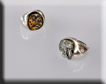 Rings in silver