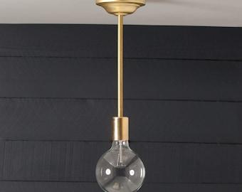 brass pendant bare bulb ul listed bare bulb lighting