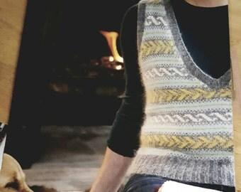 2009 Classic Elite Yarns Knitting Pattern Book OOP