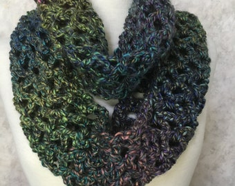 Stained Glass Lace Stitch Scarf