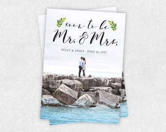 LEAF | Personalized Printable Save the Date