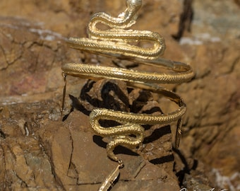 Isis Gold Plaited Armband