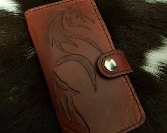 Leather phone case/wallet for iphone 6