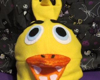 Chica Chicken Inspired Costume Hat FNAF