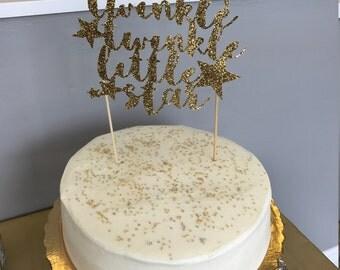 Twinkle Star Cake Topper