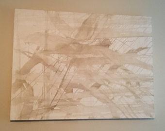 3'x4' Monochromatic on Canvas