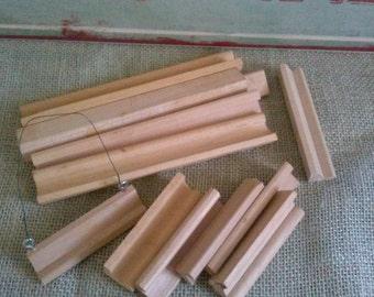 Scrabble Tile Wood Trays