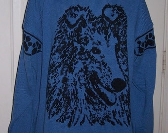 Custom Knit Collie Sweater ****Create your own sweater see below*****