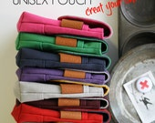 Custom Color UNISEX Pouch - create your own
