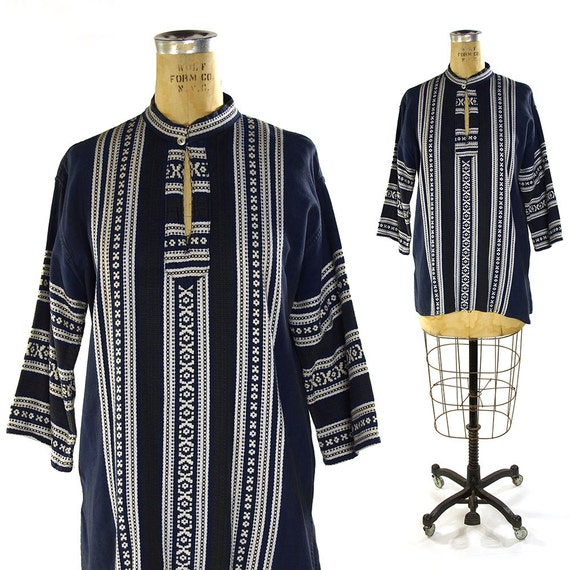 Greek Embroidered Peasant Blouse 49