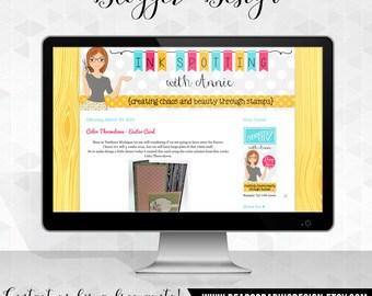 Custom Blog Design, Basic Design Package for Blogger Blogs