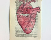 RESERVED FOR LAURA Blackout Poetry (permit your heart to turn loose) Original Artwork & Poem