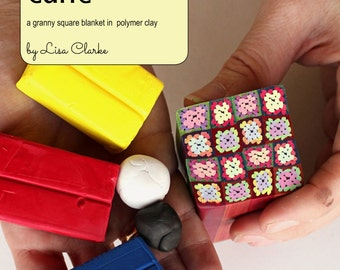 The Afghan Cane Polymer Clay Millefiori Tutorial