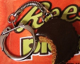Reeses.......... Peanut Butter Cup Keychain