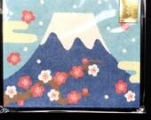 Japanese Envelopes - Mount Fuji Envelopes - Receipt Envelopes - Packaging - Set of 8