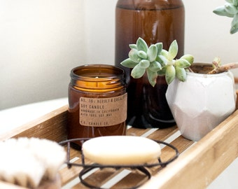 No. 16: NEROLI & EUCALYPTUS  - 7.2 oz soy wax candle - california inspiration - P.F. Candle Co.