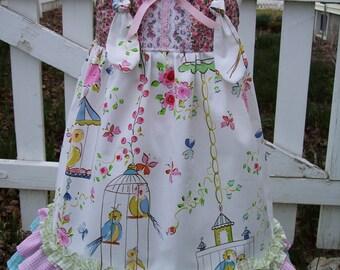 My Carrie Sweet Birdie Ruffled Maxi Dress