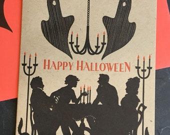 Seance - Halloween letterpress greeting