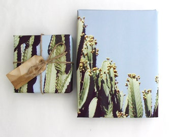 Southwest Gift Wrap Sheet - Cacti and Succulent Gift Wrap - Desert Southwest Gift Wrapping Paper