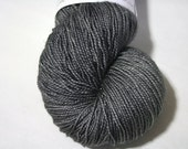 hand dyed yarn - Shimmer Sock - Soft Iron colorway (dyelot 1230)