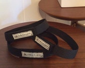 Black Velcro Strap for yoga mat