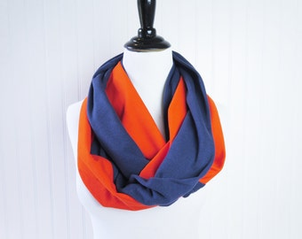 Denver Broncos Scarf - Chicago Bears Scarf - Houston Astros Scarf - Detroit Tigers Scarf - Orange Navy Scarf - Team Scarf