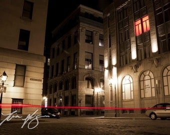 BOGO (Buy one, get one free) - Red Window - Fine art photography - Borderless print