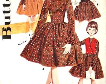 UNCUT Girls Party Dress or Jumper Size 14 Butterick 2409