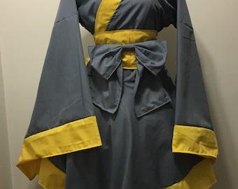 Fallout Kimono Dress
