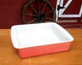 Pyrex Pink Desert Dawn Made in USA Large Baking Dish