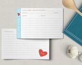 Custom Recipe For Love Cards