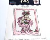 Ballerina Bunny Counted Cross Stitch Kit from DMC #K4551