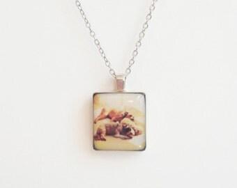 Instagram Custom Scrabble Tile Pendant - Hipstamatic - Personalized Jewelry - Custom Photo Jewelry - Custom Photo Jewelry - Pet Memorial
