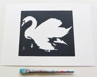 Swan Print - Small