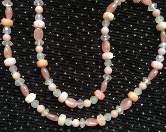 A Necklace of Pinks  N24