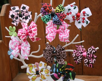 All Occasion Bow--Your Choice of Color/Print--More Colors Inside